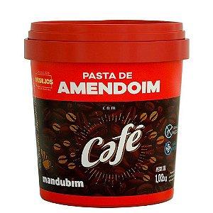 Pasta de Amendoim Com Café 1,02Kg Mandubim
