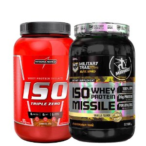 Combo whey Iso triple Integral + Whey Iso Missile Midway