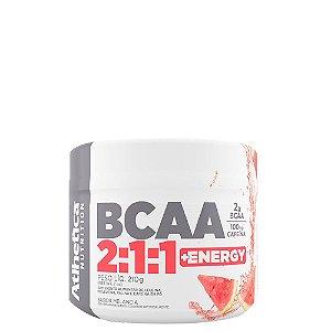 Bcaa 2:1:1 + Energy Com Cafeína 210g Atlhetica