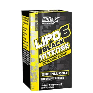 Lipo 6 Black Intense 120Caps Nutrex
