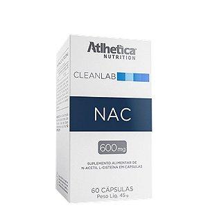 CleanLab NAC 60 Cáps Atlhetica