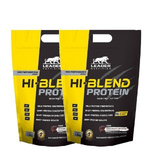 Kit 2 Hi Blend Protein 1,8kg Leader Nutrition