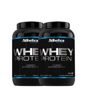 Kit 2 Whey Protein Pro Series 1Kg Atlhetica Nutrition