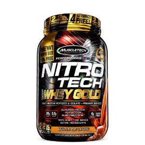 Whey Gold Nitro Tech 1,13 Kg Muscletech
