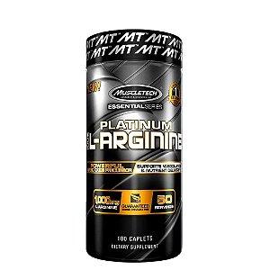 Platinum 100% L- Arginine 100 Cápsulas Muscletech