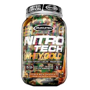 Nitro Tech Whey Gold Camuflado 1,13 Kg Muscletech