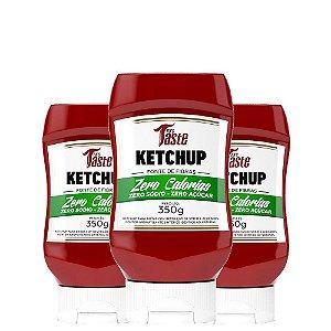 Kit 3 Molhos ketchup 350g Mrs Taste