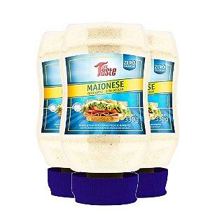 Kit 3 Molho de Maionese 350g Mrs Taste