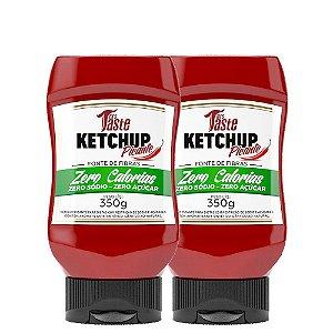 Kit 2 Molho Ketchup 350g Mrs Taste