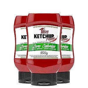 Kit 3 Molho Ketchup Picante 350g Mrs taste