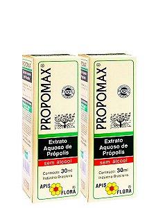 Kit 2 Unid Extrato de Própolis Sem Álcool 30ml Apis Flora