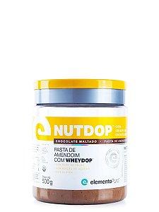 Pasta de Amendoim NutDop 500g Elemento Puro