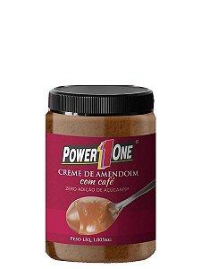 Creme de Amendoim com Café - 1Kg - Power One - Lançamento
