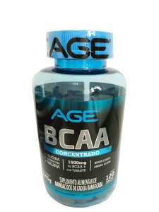 Bcaa Concentrato 1500mg (120 Tabletes) Age