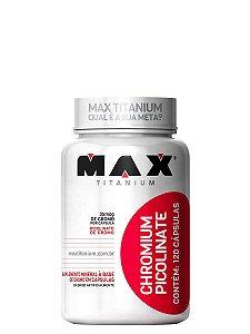Picolinato de Cromo 120 Cáps Max Titanium