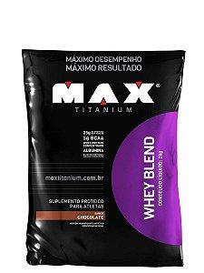 Whey Blend Refil 2kg Max Titanium