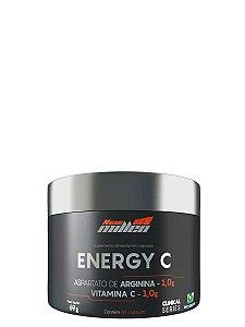 Arginina Energy C 60 cápsulas  New MIllen