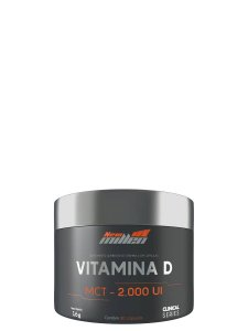 Vitamina D + MCT 2.000 UI 30 Cáps New Millen