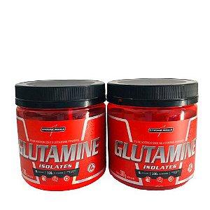 Kit 2x Glutamina 300g Integralmedica