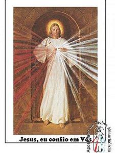 CARTELA DE SELO JESUS MISERICORDIOSO - SKEMP