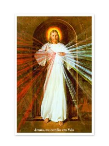 PÔSTER JESUS MISERICORDIOSO - SKEMP