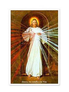 PÔSTER JESUS MISERICORDIOSO