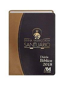 DIÁRIO BÍBLICO 2018 LUXO - CARAMELO
