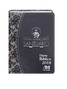DIÁRIO BÍBLICO 2018 LUXO - RENDA