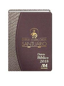 DIÁRIO BÍBLICO 2018 LUXO - UVA TRANCADO