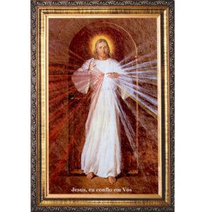 QUADRO JESUS MISERICORDIOSO RESINADO- IMAGEM SKEMP