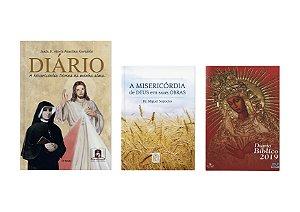 DIÁRIO + A MISERICÓRDIA DE DEUS EM SUAS OBRAS + DIÁRIO BÍBLICO