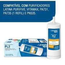 Filtro Latina P655 (COMPATÍVEL PLANETA ÁGUA),