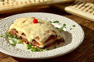 menu 45 - Lasanha de palmito pupunha com patinho moído e queijo light - 350g