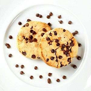 COOKIE FIT TRADICIONAL (BAUNILHA COM GOTAS DE CHOCOLATE ZERO) 40G - SEM Açúcar, SEM Glúten.