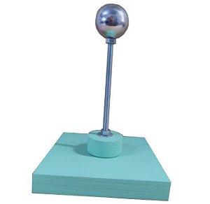 Apoio de Montagem cor verde Esfera de 3cm