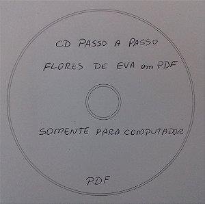 CD PASSO A PASSO FLORES EM EVA