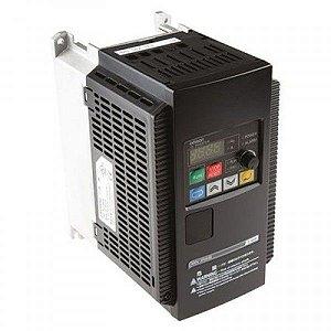 inversor 1,0cv Monofásico 220Vca 4A 0,75kW Escalar OMRON 3G3JX-AE007