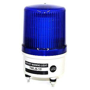Sinalizador EMERGÊNCIA Rotativo LED+BUZZER - 220VCA - AZUL TWLB-10L2BL METALTEX