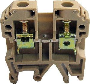 CONECTOR DE PASSAGEM 6MM P/ TRILHOS TS32 E TS35 - BEGE MTB6EN
