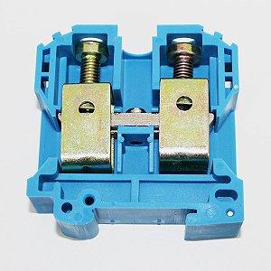 CONECTOR DE PASSAGEM 70MM P/ TRILHOS TS32 E TS35 - AZUL MTB70EN-AZ