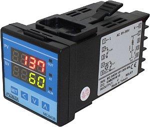 CONTROLADOR TEMPERATURA 48X48MM - 1 SAÍDA SSR - 1AL - ALIM. 100-240VCA MC8438-201-000
