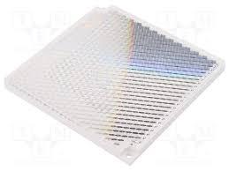 refletor omron, dimensões: 100 x 100 x 9 mm, compativel com os sensores: E3F2. E39-R8  E39-R8