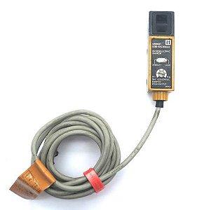 sensor fotoeletrico difuso retangular 18mm vertical  NPN NF cabo  E3S-DS30E41  E3S-DS30E41
