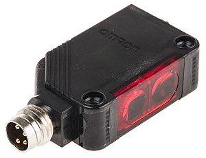 sensor fotoelétrico/ DS:4m/ retroreflectivo(polarizado)/ PNP/ conector M8  E3Z-R86