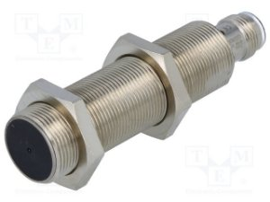 sensor indutivo/M18/NA/PNP/DS:8mm/faceado/conector M12/corpo longo  E2A-M18LS08-M1-B1
