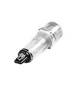 INDICADOR LED 11MM-220VCA BRANCO  TPN-112LW