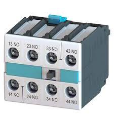 bloco de contato auxiliar, frontal, 4NA, para contator S0 - S12 3RH19211FA40