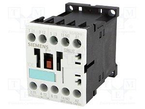 contator forca tri 7A, 110Vca, 1NA, 60HZ 3RT1015-1AF01