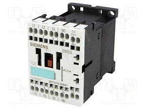 contator forca tri 9A, 24Vcc, 1NA, 60HZ 3RT1016-2BB41