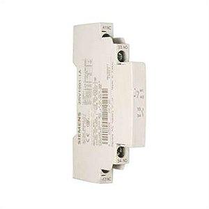 contato auxiliar lateral 3RV19011A, 1NA+1NF, para disjuntor tamanho S00, S0, S2, S3 3RV1901-1A